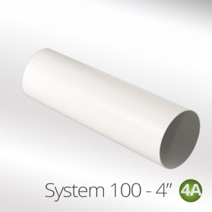 100mm round ducting pipe 4""