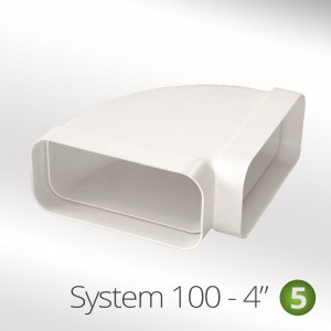 100mm 90° Horizontal Elbow