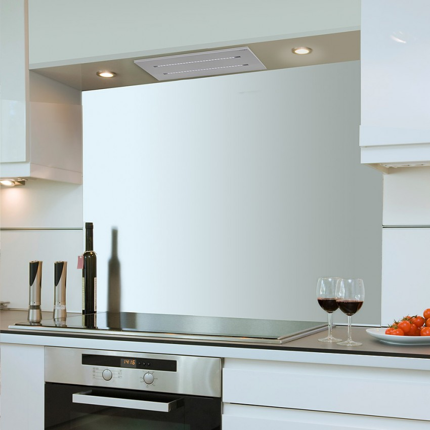 650mm Stainless Steel Ceiling Extractor For Small Kitchens