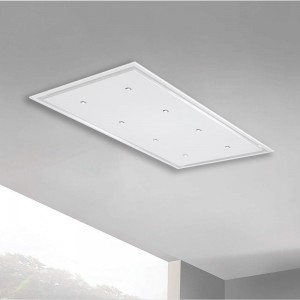 Anzi - 120cm x 70cm - Pitched Roof External Motor - White