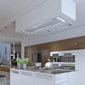 Soffitto 120cm x 30cm Ceiling Hood - Stainless Steel