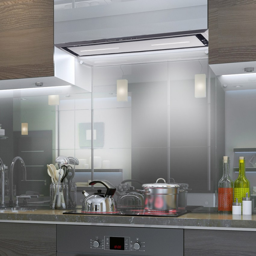 Canopy Cooker Hood Stainless Steel 54cm