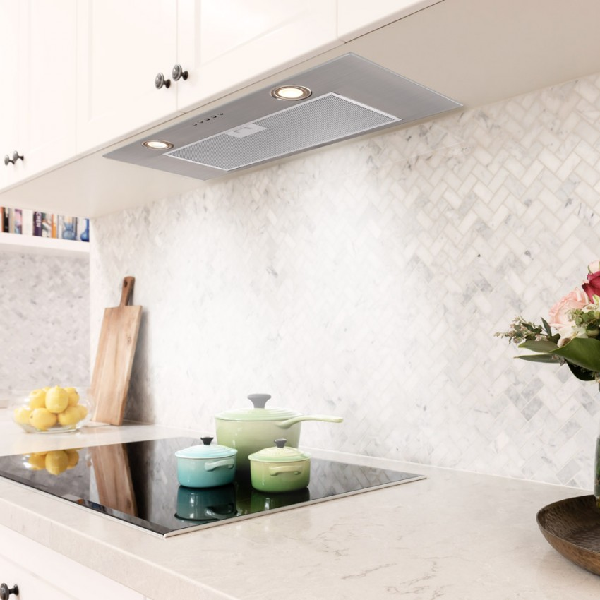 Canopy Cooker Hood 74cm Stainless Steel Plus