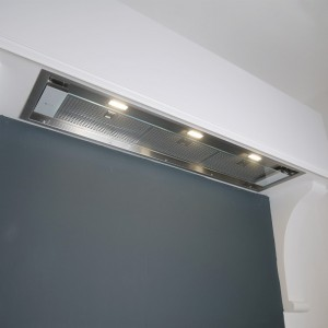 120cm Canopy Cooker Hood with Adjustable Glass Visor