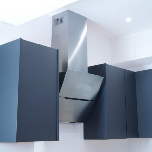 Ascenti -  60cm Angled Cooker Hood in Stainless Steel