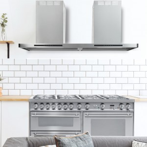 150cm Linea Stainless Steel Cooker Hood