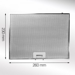 Metal Grease Filter 260mm x 230mm
