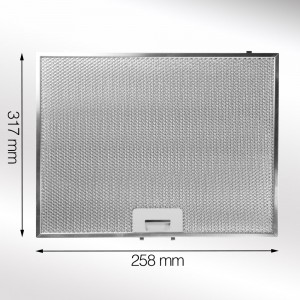 Metal Grease Filter 317mm x 258mm