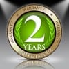 2 Years Parts and Labour Warranty (subject to registration)