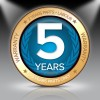 5 Years Warranty (2 Years Parts & Labour + 3 Years Parts Only)