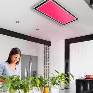 100cm ceiling cooker hood With External Motor Options - RGB colour changing