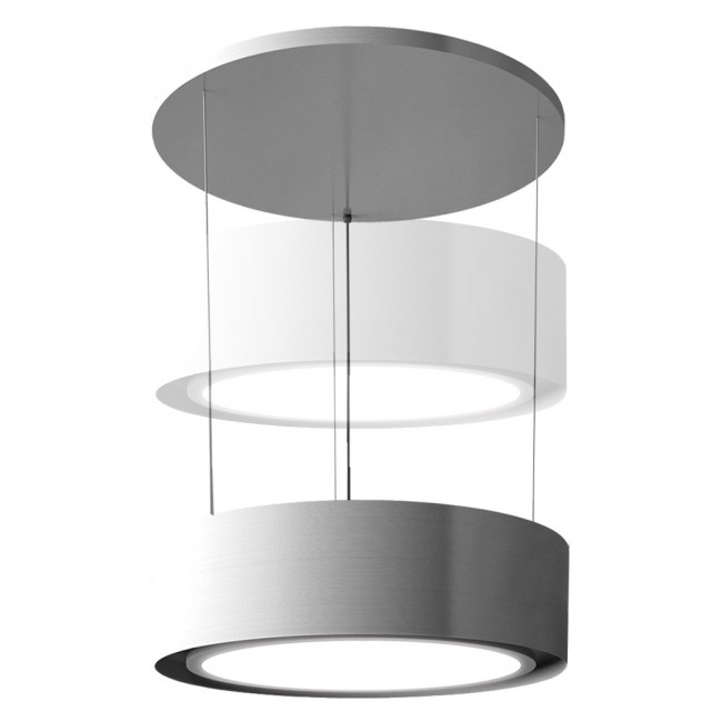Pendant Cooker Hood With Riser Up Down