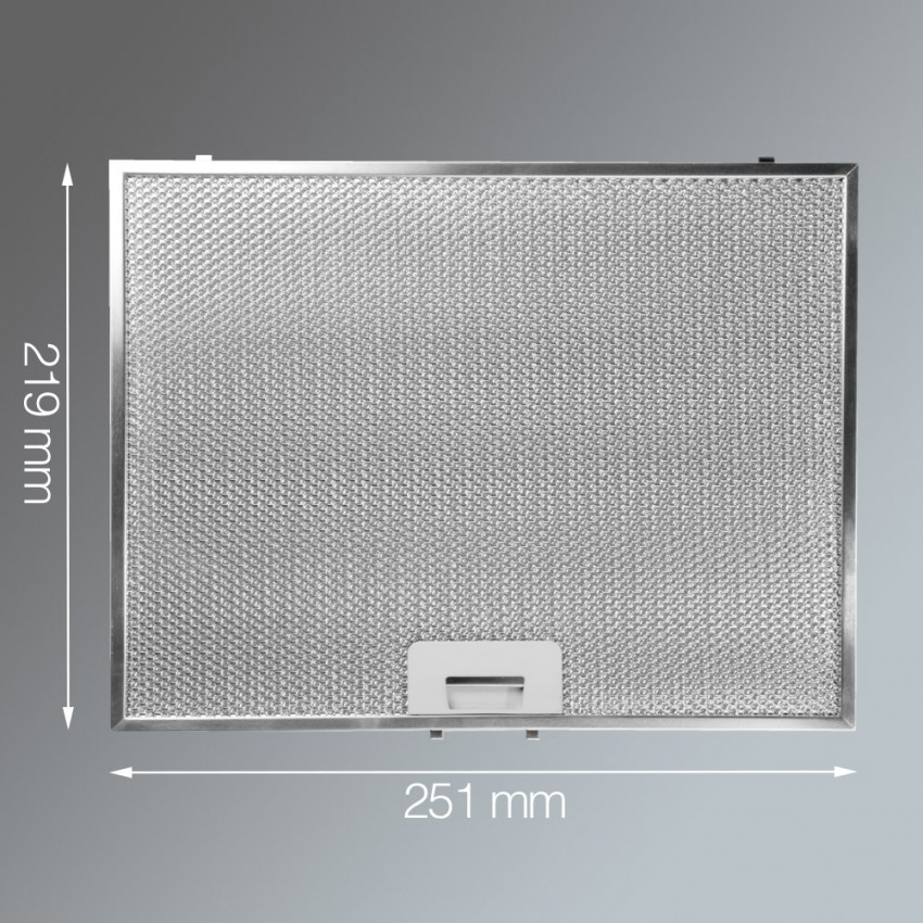 Metal Grease Filter 219mm x 251mm