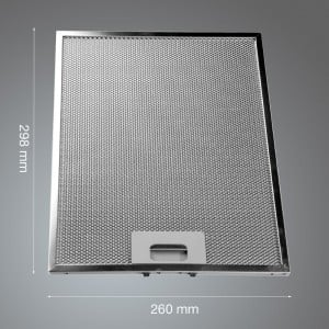 Metal Grease Filter 298mm x 260mm