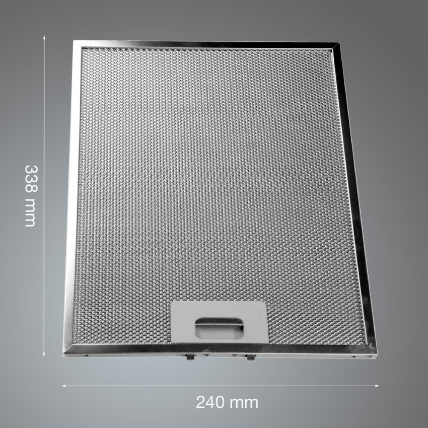 Metal Grease Filter 338mm x 240mm