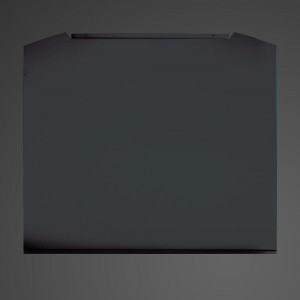 80cm Valore Black Steel Splashback