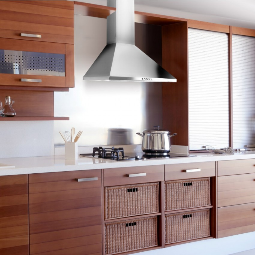 60cm Budget Cooker Hood Stainless Steel