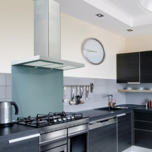60cm Flat Stainless Steel Kitchen Extractor