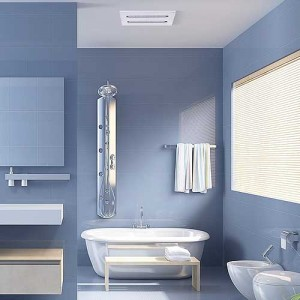 Powerful Bathroom Fan 650mm White