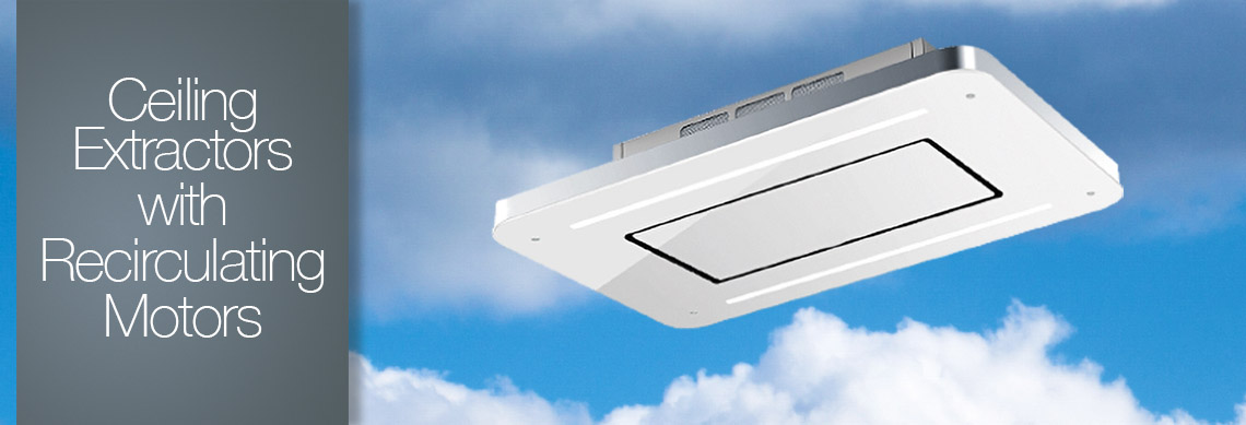 Reirculating Ceiling Cooker Hood