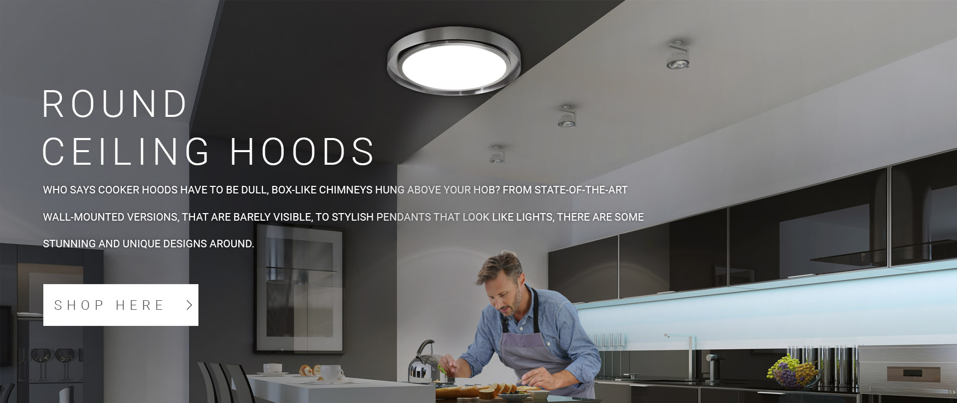 Round Ceiling Cooker Hoods