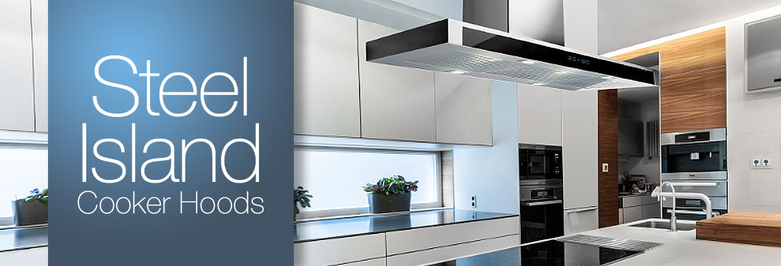 Stainless Steel Island Cooker Hoods