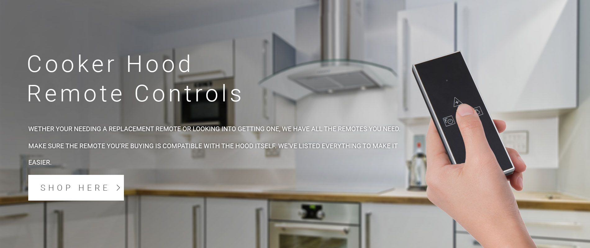 Cooker Hood Remote Controls