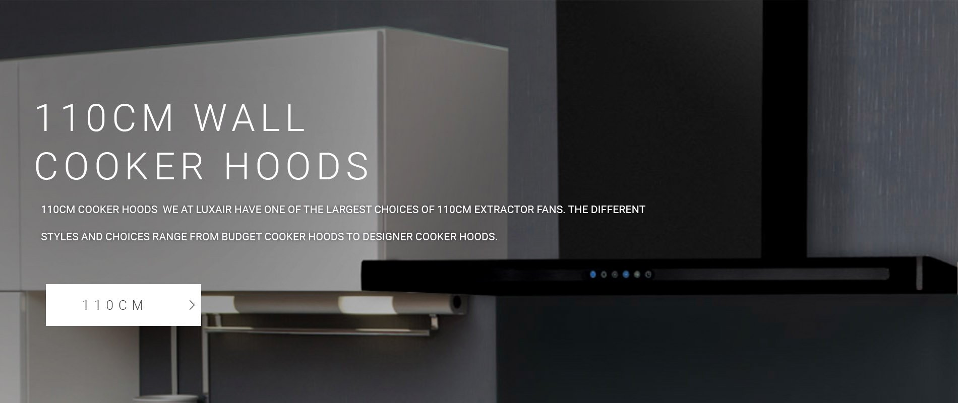 110cm Wall Mounted Cooker Hoods