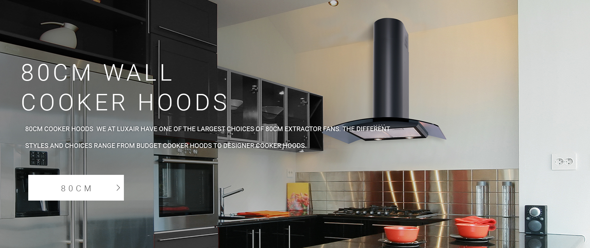 80cm Wall Mounted Cooker Hoods