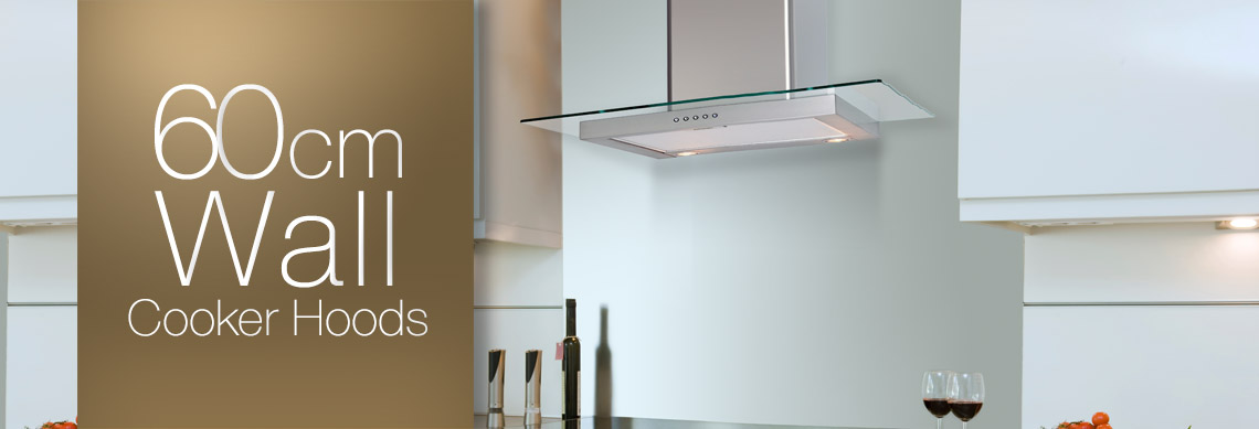 60cm Wall Mounted Cooker Hoods
