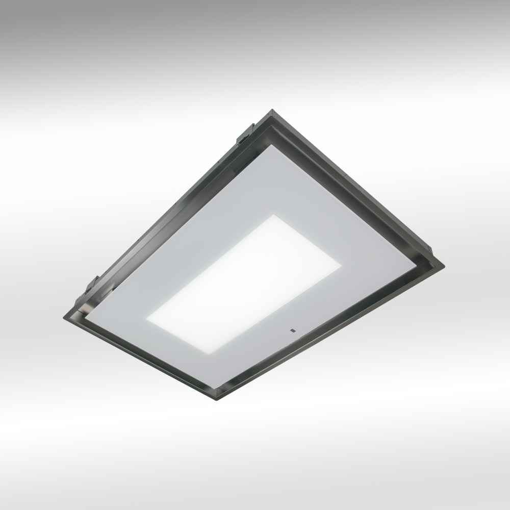 Ceiling cooker hood with light panel limited offer