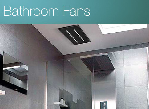 New designer bathroom fans