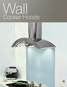 Wall mounted kitchen extractors