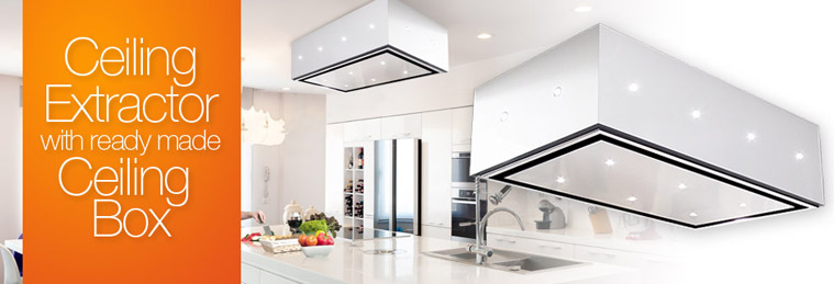 Ceiling Extractors with Ready Made Drop Box