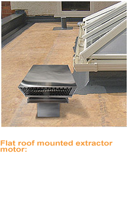 Ceiling Extractors With External Motors