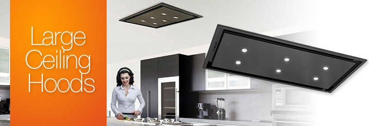 Large Ceiling Cooker Hoods