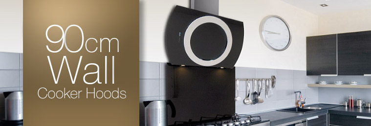 90cm Wall Mounted Cooker Hoods